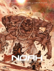 A six-armed Nephilim from the graphic novel, Noah by Darren Aronofsky.  Will they appear in the movie? http://bloody-disgusting.com/news/3241090/darren-aronofsky-brings-noah-to-image-comics/