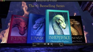 All 4 novels in the Inheritance series.