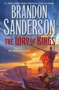 The beautiful cover of Way of Kings.  Words of Radiance, will be released in March.