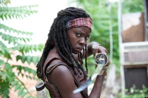 Probably the coolest and most complex ninja to ever grace the screen, Michonne.  Her backstory is also tragic, but her friendship with the other survivors, particularly Carl, is incredibly well acted.