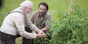 Hershel was the backbone of the prison community.  He wasn't just a primary health-care provider, but a farmer too.  He taught Rick sustainability and agriculture, which helped Rick through his dark period.