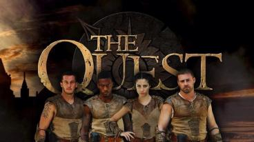 ABC's The Quest Final face Verlox tomorrow, Thursday 8/7c in a season finale worthy of epic fantasy.  (From left to right: Andrew, Shondo, Lina, and Patrick.)
